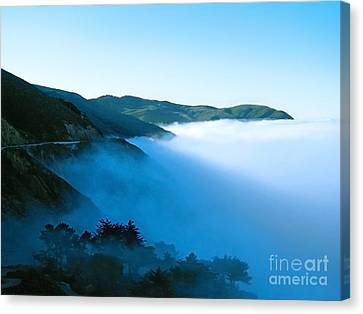Early Morning Coastline Canvas Print