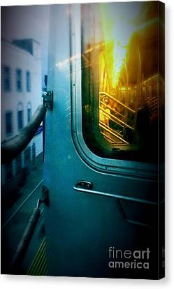Early Morning Commute Canvas Print by James Aiken