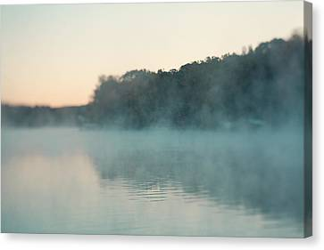Early Morning Fog Canvas Print by Kim Fearheiley