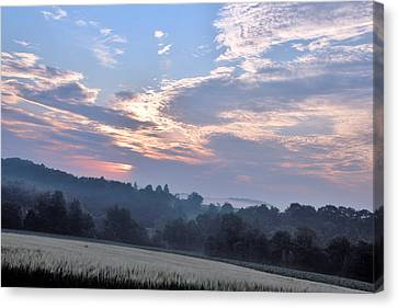 Early Morning Canvas Print by Gary Pavlosky