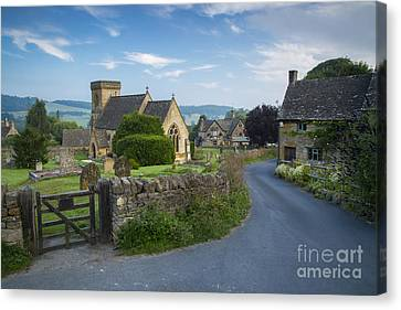 Early Morning In Snowshill Canvas Print by Brian Jannsen