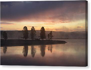 Early Morning In The Valley Canvas Print by Tranquil Light  Photography