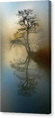 Early Morning Canvas Print by manhART