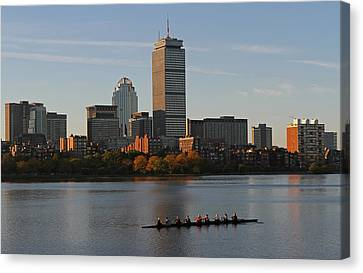 Early Morning Preparation For The Head Of The Charles  Canvas Print by Juergen Roth
