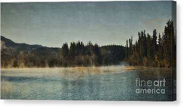 Early Morning Canvas Print by Priska Wettstein