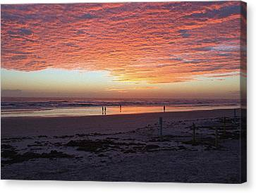 Early Morning Risers Canvas Print