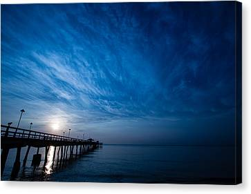 Early Morning Sunrise Canvas Print by Mike Burgquist