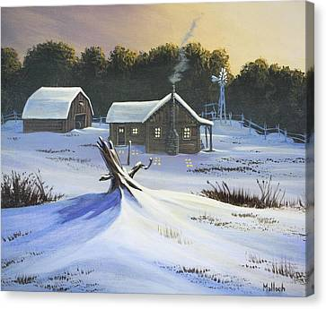 Early Snow Canvas Print
