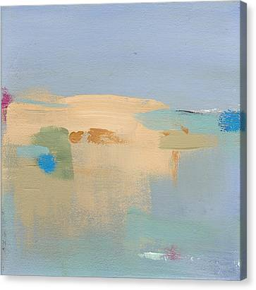 Early Spring Harbor Canvas Print by Jacquie Gouveia