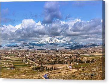 Early Spring In Emmett Valley Canvas Print