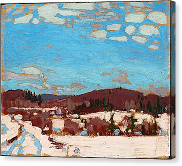 Early Spring Canvas Print by Tom Thomson
