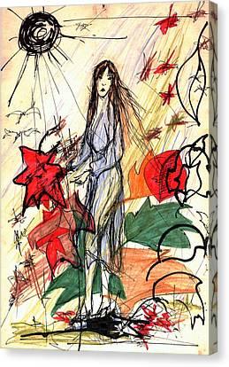 Joy Canvas Print - Early Spring by Wojtek Kowalski