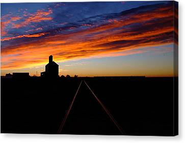 Early To Rise.. Canvas Print by Al  Swasey