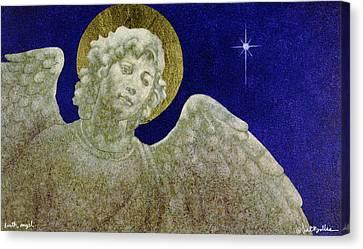 Earth Angel Canvas Print by Will Bullas