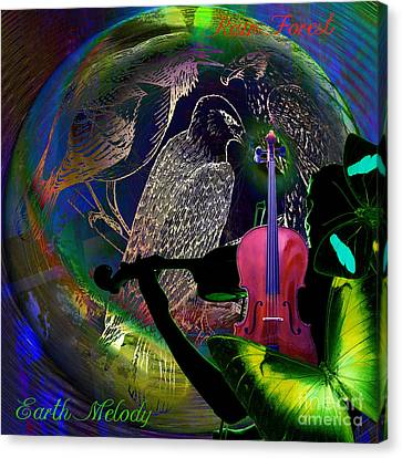 Earth Melody Canvas Print