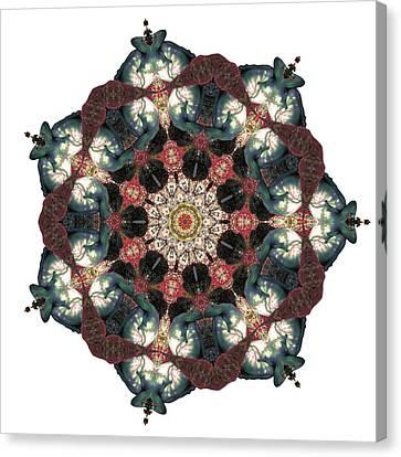 Earth Nest Canvas Print by Lisa Lipsett
