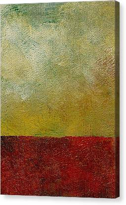 Earth Study One Canvas Print by Michelle Calkins