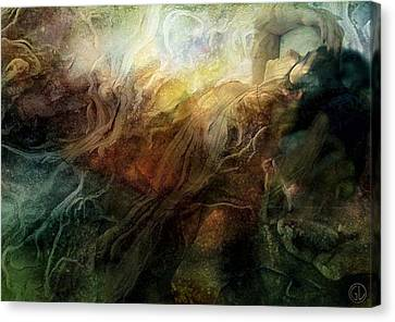 Earthborn Canvas Print by Gun Legler
