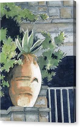 Earthenware Canvas Print by Marsha Elliott