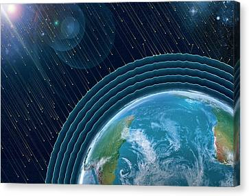 Earth's Radiation Belts Canvas Print