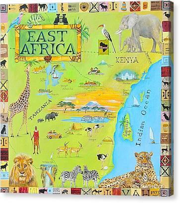 East Africa Canvas Print by Virginia Ann Hemingson