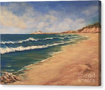 East Beach Watch Hill  Canvas Print