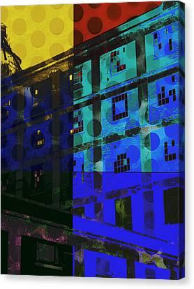 East Central Avenue Canvas Print by Ann Powell