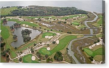 East Coast Georgia Golf Course Canvas Print