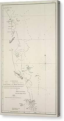 East Coast Of The Malay Peninsula Canvas Print