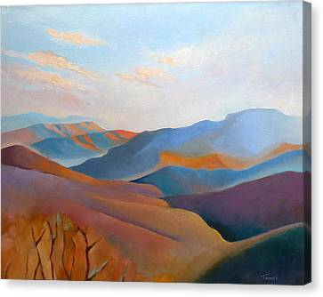 East Fall Blue Ridge No.3 Canvas Print