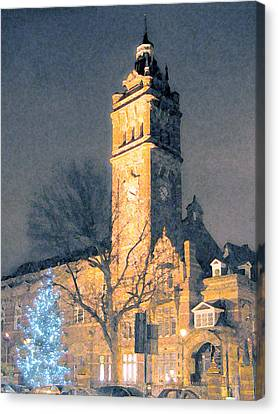 East Ham Town Hall Canvas Print