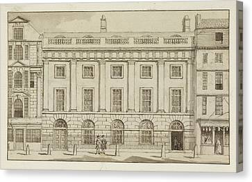 East India House In The City Of London Canvas Print