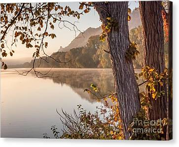 Canvas Print featuring the photograph East Lake Morning by Kari Yearous