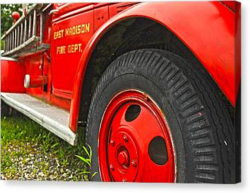 East Madison Fire Dept Canvas Print by Karol Livote