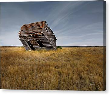 East Montana Texture Canvas Print by Leland D Howard