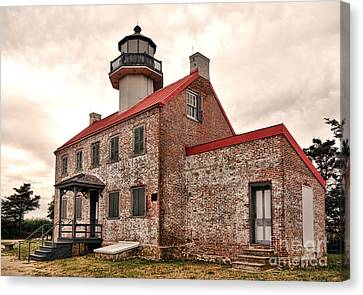 East Point Light Canvas Print by Olivier Le Queinec