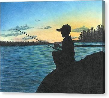 East Pond Canvas Print