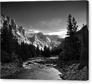 East Rosebud Canyon 7 Canvas Print