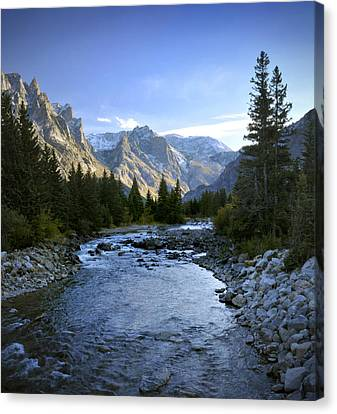 East Rosebud Canyon 8 Canvas Print