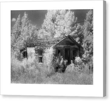 East Texas Cabin Canvas Print by Greg Kopriva