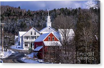East Topsham Vermont. Canvas Print by New England Photography