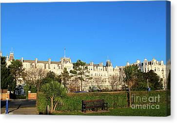 Eastbourne Grand Hotel Canvas Print by Art Photography