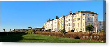 Eastbourne King Edwards Parade Panorama Canvas Print by Art Photography