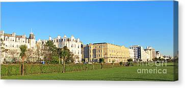 Eastbourne Panorama Canvas Print by Art Photography