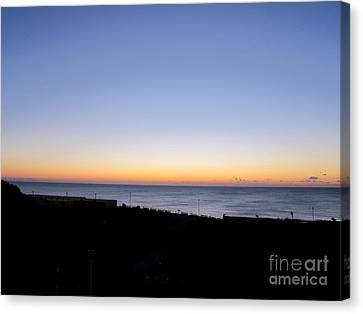Eastbourne Sunset Canvas Print by Art Photography