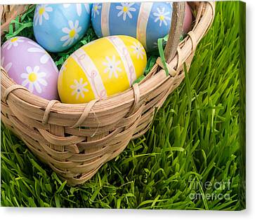 Easter Basket Canvas Print by Edward Fielding