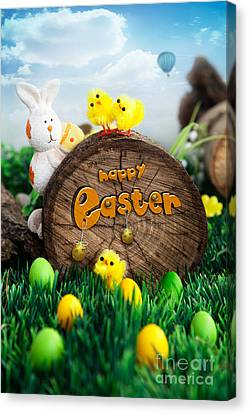 Easter Canvas Print by Mythja  Photography