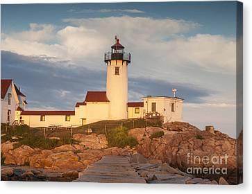 Eastern Point Lighthouse Canvas Print