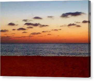 Canvas Print featuring the photograph Easter Sunset by Amar Sheow