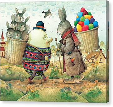 Eastereggs 03 Canvas Print